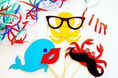 Karneval, Geburtstag oder Feiertag Lizenzfreie Stockfotografie