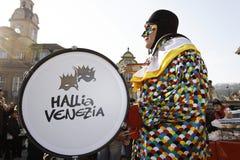 Karneval - Hallia VENEZIA Lizenzfreies Stockbild