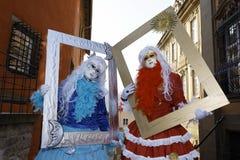 Karneval - Hallia VENEZIA Stockbilder