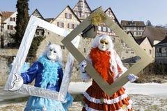 Karneval - Hallia VENEZIA- Bilderrahmen Stockbilder