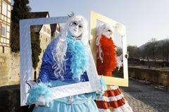 Karneval - Hallia VENEZIA- Bilderrahmen Lizenzfreies Stockfoto