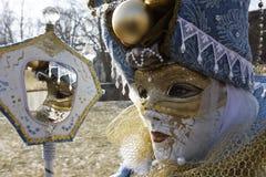 Karneval - Hallia VENEZIA - Spiegel Stockfotos