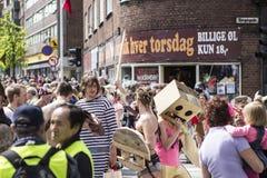 Karneval i Europa, Danmark, Aalborg Arkivfoton