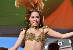 Karneval i Nivelles Royaltyfri Foto