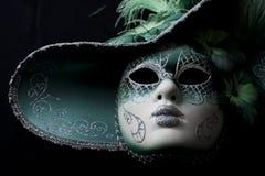 Karneval i Venedig Arkivbilder