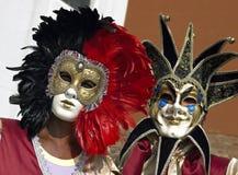 karneval italy venice Arkivfoto