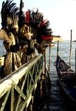 karneval italy venice Arkivbilder