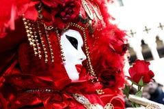 karneval italy venice Arkivfoton