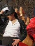 karneval jackson michael till tribute Arkivfoto