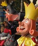 Karneval - Märchenzeichenhin- und herbewegung stockbild