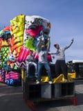 karneval malta Arkivfoto