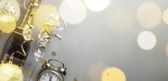 Karneval mit Champagner lizenzfreies stockbild