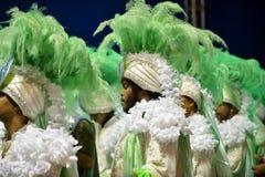 Karneval 2018 - Mocidade Independente de Padre Miguel Lizenzfreie Stockfotografie
