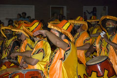 karneval montevideo uruguay för 2008 band Arkivbilder