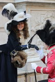 Karneval oder venetianischer Maskenkarneval Stockfotografie