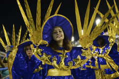 Karneval 2017 - Renascer de Jacarepagua lizenzfreie stockfotos