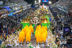 Karneval 2014 - Rio de Janeiro Royaltyfria Foton