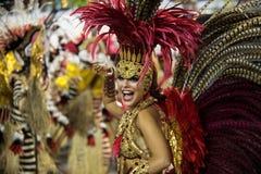 Karneval 2014 - Rio de Janeiro Stockbild