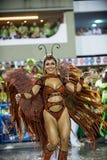 Karneval 2014 - Rio de Janeiro Lizenzfreies Stockbild