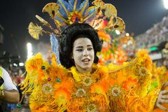 Karneval 2014 - Rio de Janeiro Stockfotos