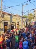 Karneval in Rio de Janeiro Stockfoto