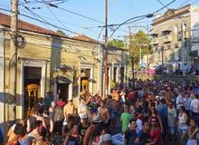 Karneval in Rio de Janeiro Stockbilder