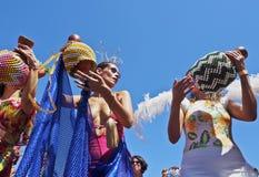 Karneval in Rio de Janeiro Lizenzfreie Stockfotos