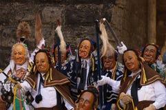 Karneval in Rottweil Süddeutschland Lizenzfreies Stockfoto