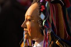 Karneval in Rottweil Süddeutschland 2010 Lizenzfreies Stockfoto