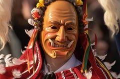 Karneval in Rottweil Süddeutschland 2010 Stockfotografie