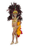 Karneval Samba Dancer royaltyfria foton