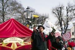 Karneval in Samobor Stockbilder