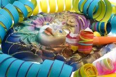 Karneval, Schablone venetianisch lizenzfreie stockfotos