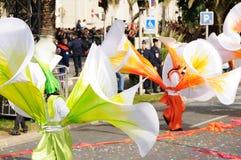 karneval trevliga france Royaltyfri Fotografi
