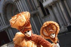 Karneval in Venedig 1 Stockbild