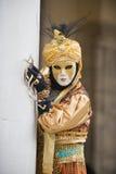 Karneval in Venedig stockbilder
