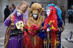 Karneval in Venedig Lizenzfreie Stockfotos