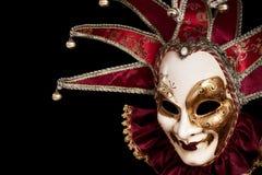 Karneval in Venedig Stockfotografie