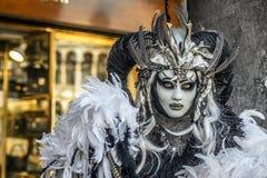 Karneval in Venedig Stockbild