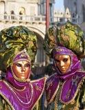 Karneval Venedig, Schablone Lizenzfreies Stockbild