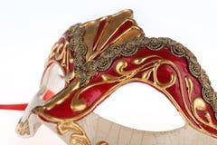 karneval venetian isolerad maskering Royaltyfri Bild