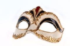 karneval venetian isolerad maskering Fotografering för Bildbyråer