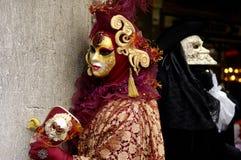 karneval venice Arkivbilder
