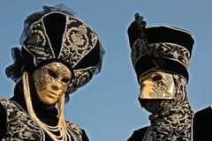 karneval venice Royaltyfri Bild
