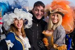 karneval venice Arkivfoto