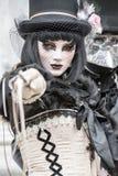 karneval venice italy royaltyfri bild