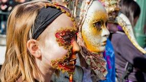 Karneval Venitien d Annecy 2012 Stockfotos