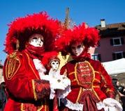 Karneval Venitien d Annecy 2012 Lizenzfreie Stockfotos