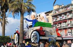 Karneval Viareggio Arkivbild