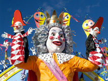Karneval viareggio Stockbild
